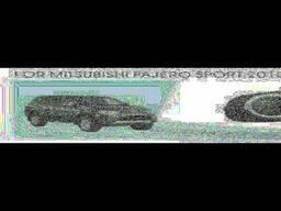 Фары дополнительные модель Mitsubishi Pajero Sport 2010+. ..
