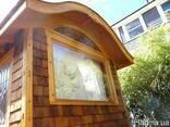 Фасад деревянный-гонт - фото 4