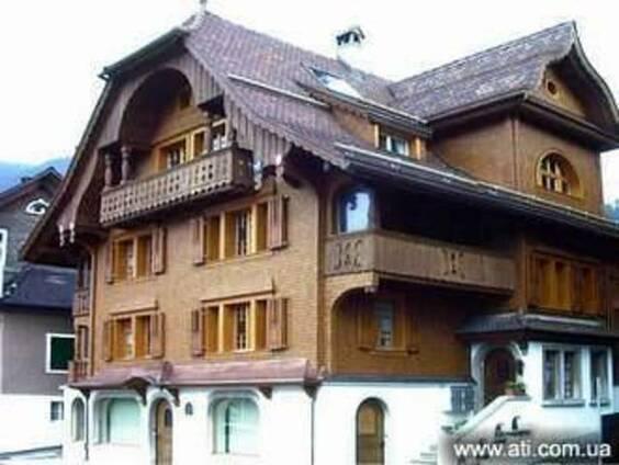 Фасад деревянный-гонт