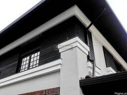 Фасад, фасадная доска, термодерево