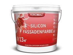 Фасад силіконова фарба Silikon Fassadenfarbe (А): 6,5 кг
