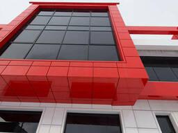 Фасади з АКП - Алюмінієві композитні панелі