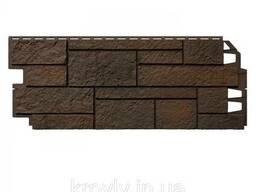 Фасадна панель VOX Solid SandStone Dark Brown 1х0, 42 м