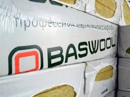 Фасадная базальтовая вата 145кг/м3 Baswool / 5cm.
