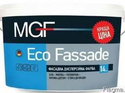 Фасадная дисперсионная краска MGF Eco Fassade 14кг