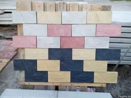 Фасадная плитка Рваный камень Цокольная плитка