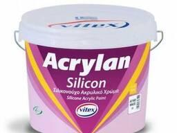 Фасадная силиконовая краска Acrylan Silicon, 10л.