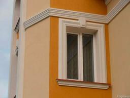 Фасадне обрамлення вікон та дверей