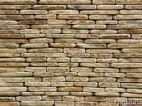 Фасадно-стеновая нарезка окатанная из песчаника - фото 2