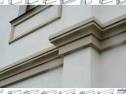 Фасадный, интерьерный декор дома. Гіпсова ліпнина
