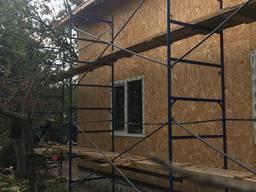 Фасадные, облегченные строительные леса Б/У новые