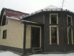 Фасадные панели (цокольный сайдинг) на разный вкус и цвет