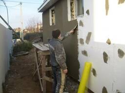 Фасадные работы, утепление домов