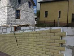 Фасадные термопанели с плиткой Фагот