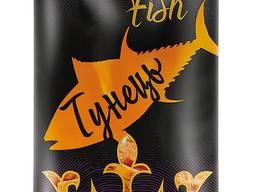 Фасовані рибні снеки ТМ Royal Fish Тунець 16 г