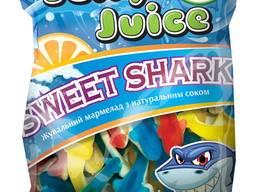 Фасований жувальний мармелад ТМ Jelly Juice Солодка акула 45 г