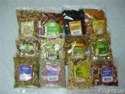 Услуги фасовки орехов и сухофруктов