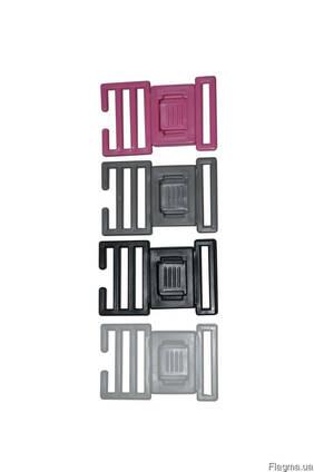 Фастекс кнопчастий 25мм, застібка пластикова