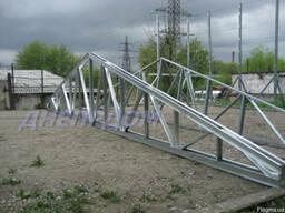 Ферма двухскатная металлическая длина 12,0 м