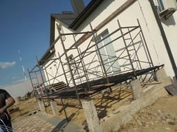 Ферми, навіси, тераси, навісні конструкції.