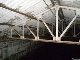 Фермы металлические двускатные 12 м.