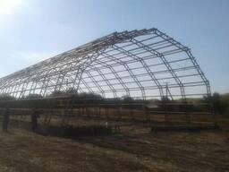 Фермы металлические шириной 12, 15, 18м