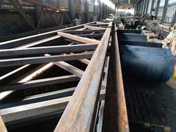Фермы металлические, стальные фермы стропильные, арочные