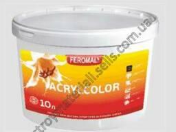 Феромал Аcrylcolor - внутренняя матовая водоэмульсионная краска высокого качества: 10 л