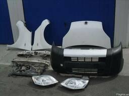 Fiat QUBO Капот Дверь Бампер Разборка Крыло Решетка Фара