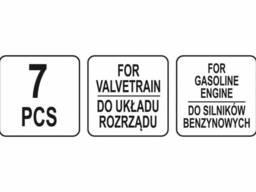 Фіксатори газорозподільної системи бензинових двигунів авто групи FORD YATO : набір, 7 шт