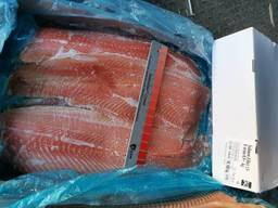 Філе лосося 900 свіжоморожене, ціна 250 грн від 20кг