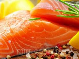 Филе лосося слабосоленый 1кг Франция