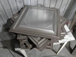 Филенка для ворот металлическая. Производство
