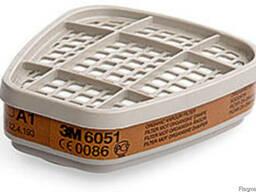Фильтр 3М А1 6051 защита от органики и паров растворителей