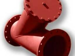 Фильтры сетчастые и осадочные Ду50 - Ду1000 Ру16(25) фланцев