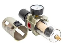 """Фильтр влагоотделитель с редуктором и манометром 4000л/мин 1/2"""" Sigma Refine (7034171)"""
