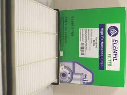 Фильтр воздушный салона elemfil dcg 3504