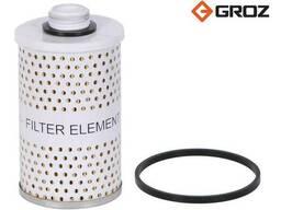Фильтрующий элемент без сепарации воды 10 микрон для сепаратора Groz 44316