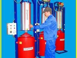 Фузодавка. Пресс термо-пневматический FTF-system