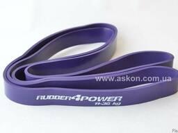 Фиолетовая резиновая петлч rubber4power нагрузка 11-36 кг