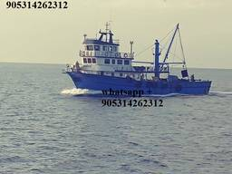 Рыболовный траулер Стамбул, рыболовный сейнер Турция