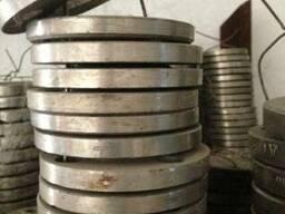 Фланцы из нержавеющей стали ( пищевой) и ( химической ), 12х