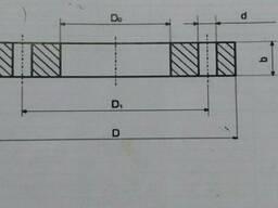 Фланец стальной для п/э труб Дн=250мм, Дн=280мм Ру10