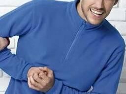 Мужской флисовый пуловер