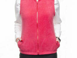 Женская флисовая жилетка пошив под заказ
