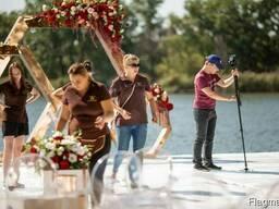 Флористика и оформление свадеб в Днепре