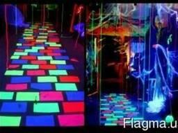 Флуоресцентная краска и флуоресцентный порошок