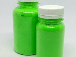 Флуоресцентный пигмент зеленый