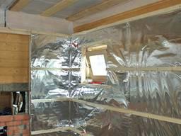 Фольга алюминиевая 50 микрон гост 8011 для саун и бань