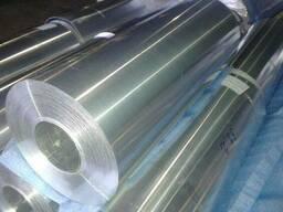 Фольга алюминиевая т.0.012мм-0.5мм в рулонах